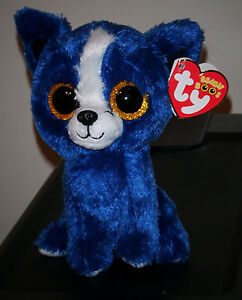 2014 Ty Beanie Boos - T-BONE the Gift Show Exclusive Blue Dog ~ 6