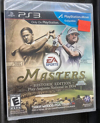 Tiger Woods PGA Tour 14 -- Masters Historic Edition PS3 - NEW SEALED