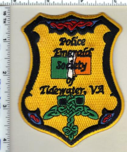 Tidewater Police (Virginia) Emerald Society Shoulder Patch