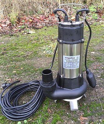 megafixx PTP 1100 M Schmutzwasser Tauchpumpe bis 27000 L