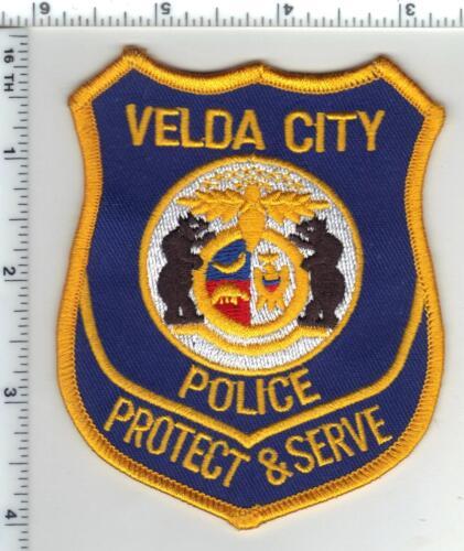 Velda City Police (Missouri)  Shoulder Patch  from 1995
