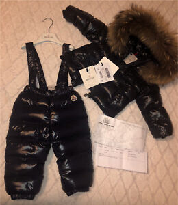 *AUTHENTIC* Baby Moncler 12-18 months with tags and invoice