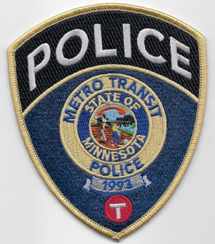 Metro Trans Police Railroad Railway Police State Minnesota MN