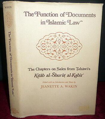 Tahawi  Functions Of Documents In Islamic Law  Sales In Kitab Al Shurut Al Kabir