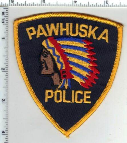 Pawhuska Police (Oklahoma) Shoulder Patch from the 1980