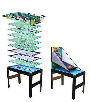 Toyrex 14-in-1-Multifunktions Spieltisch Billard Tischtennis Basketball Bowling