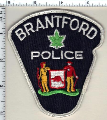 Brantford Police (Canada) Uniform Take-Off Shoulder Patch from 1990