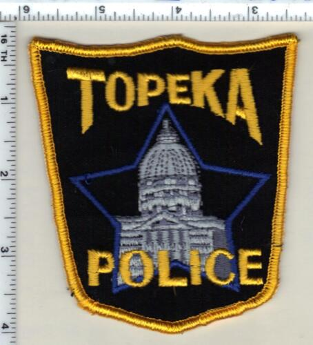 Topeka Police (Kansas) Shoulder Patch - new from 1990