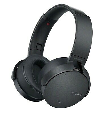 Sony XB950N1 Extra Bass Wireless Noise Cancelling Over-the-Ear Headphones -Black