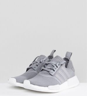 Women's grey adidas nmd's