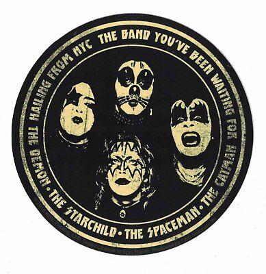 Kiss Demon Starchild Spaceman Catman STICKER - Decal Music Band Album Art SE143 - Kiss Starchild