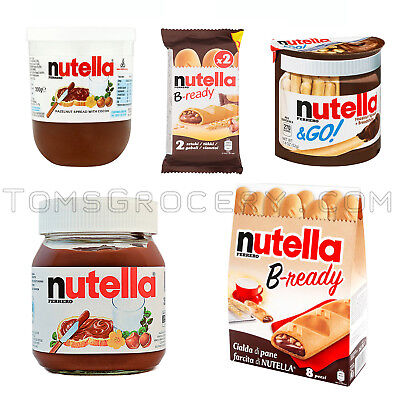 - NUTELLA Go | B-Ready | Hazelnut Chocolate Spread