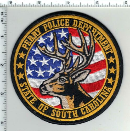 Perry Police (South Carolina) 2nd Issue Shoulder Patch