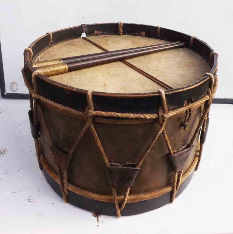American Civil war military drum.