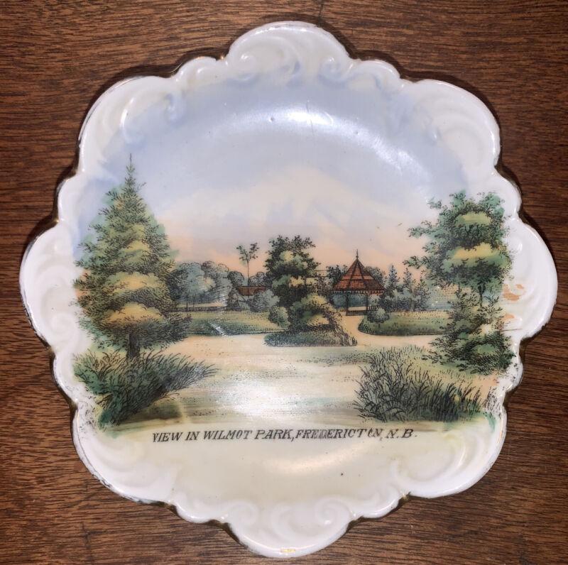 Wilmot Park Fredericton New Brunswick Canada Souvenir Porcelain Wheelock Weimer
