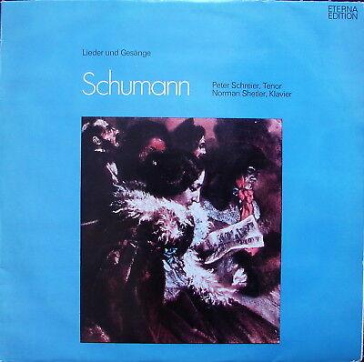 """SCHUMANN """"Lieder und Gesänge"""" - SCHREIER -SHETLER - NM-"""