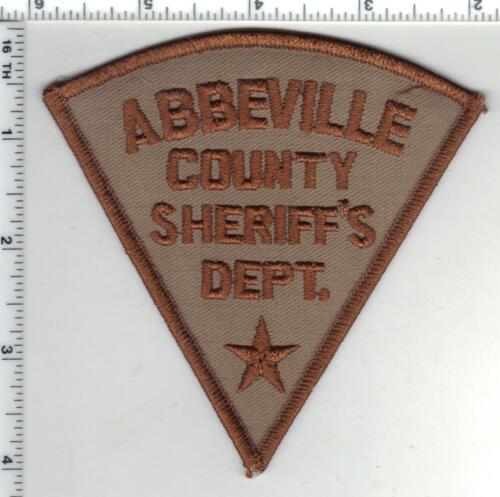 Abbeville County Sheriff (South Carolina) 1st Issue Shoulder Patch