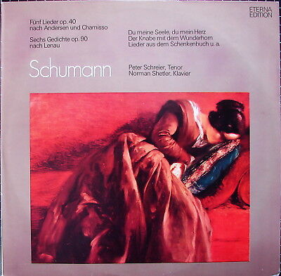 SCHUMANN 5 Lieder nach Andersen & Chamisso, 6 Lenau-Gedichte - SCHREIER -SHETLER