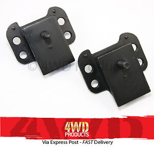 Engine-Mount-SET-4x-bolt-Patrol-GQ-Maverick-4-2P-4-2D-3-91-97