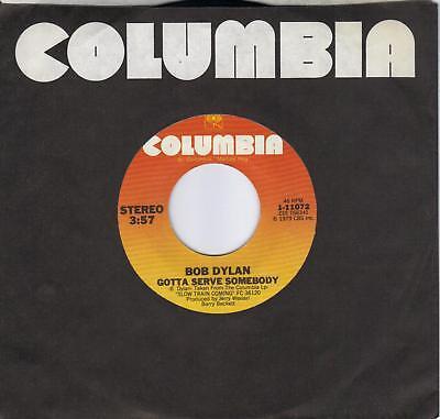 BOB DYLAN Gotta Serve Somebody / Trouble In Mind (nonLP track) 45
