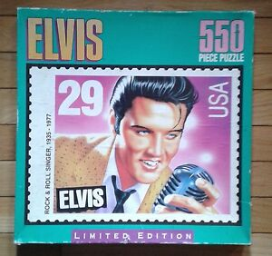 Elvis Presley  limited  edition  550 piece  USA 29 cent  puzzle