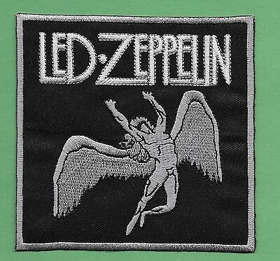 "New Led Zeppelin  4 X 4 "" Inch Iron on Patch Free Shipping"
