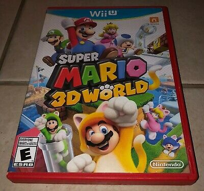 Super Mario 3D World Wii U - NO RESERVE