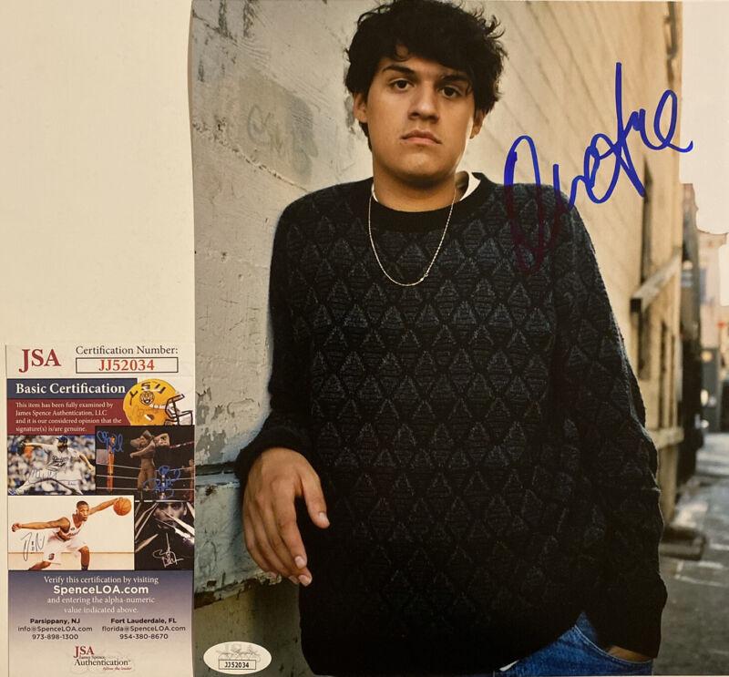 Omar Apollo Signed Autographed 8x10 Photo  (Stereo Friends) JSA COA