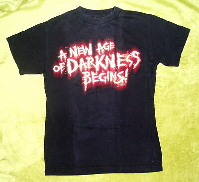 2010 Halloween Horror Nights HHNXX 20 years of FEAR T-Shirt Size Small Universal](Halloween Nights Of Horror)