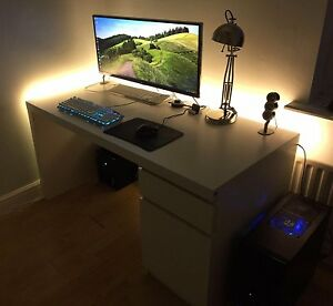 USB-Lumineux-5050-RGB-Couleur-Changeante-TV-LED-Light-Strip-Kit-Fond-d-039-eclairage