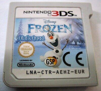 Nintendo 3DS Frozen Olaf's Quest Spielmodul