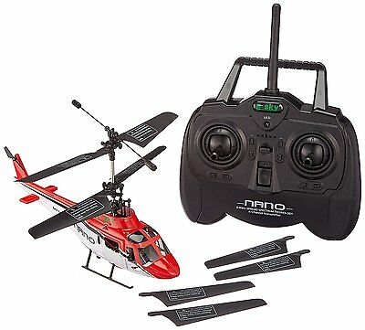 Esky Nano 4 Channel 2.4 Ghz Remote Control Helicopter Red Canopy ](4 Channel Helicopter)