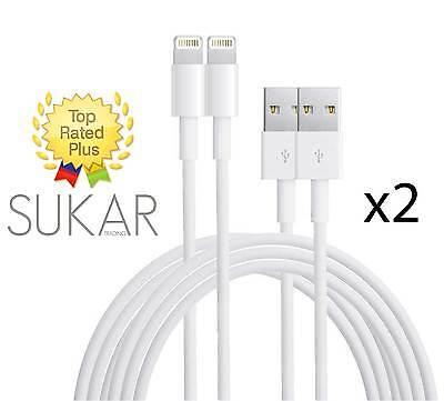 2x New OEM Lightning USB Cable Charger for iPad Air 2 mini 3 4 iPhone 5 6 6s 7