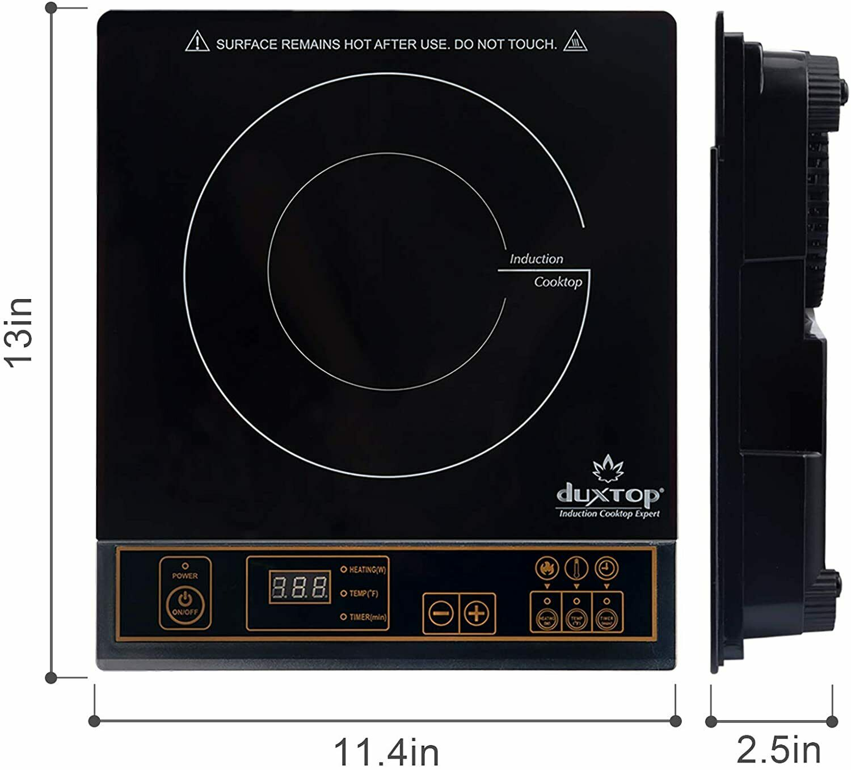 1800W Portable Induction Cooktop Countertop Burner- 8100MC -