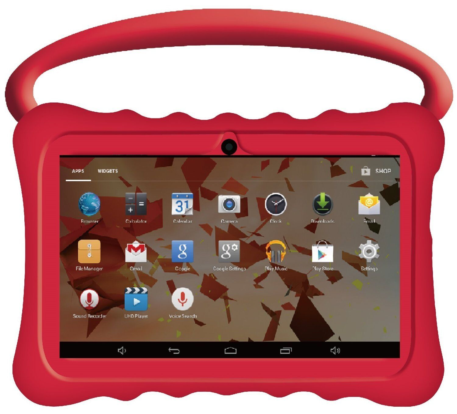 New 7 Quot Inch Btc 174 Flame Kids Handle Tablet Child Proof Hd