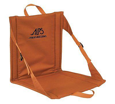 ALPS mountaineering orange rust weekender camping seat chair bleacher camping