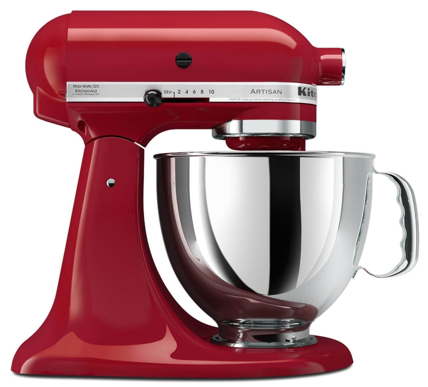 Artisan Series 5 Qt. Stand Mixer with Pouring Shield, Ice