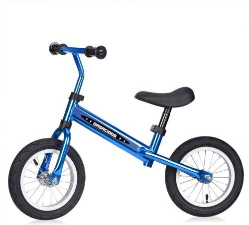 Kids Adjustable Toddler Balance Bike Beginner Rider Push No-