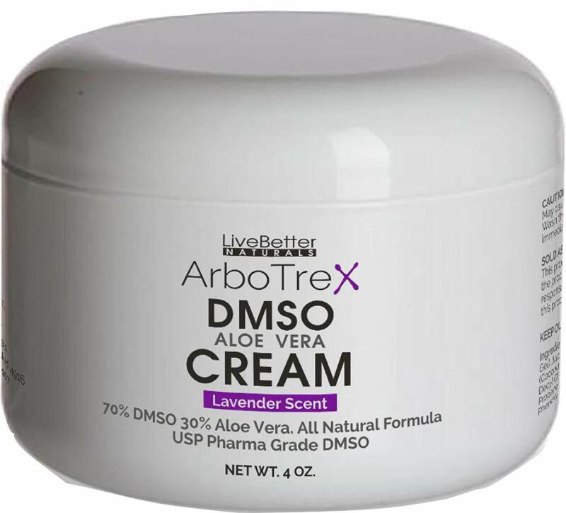 DMSO Cream With Aloe Vera - Lavender Scented, Made With 99.9