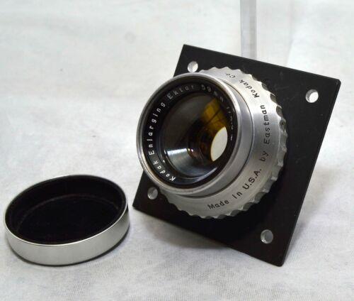 Kodak  59mm f4.5 Enlarging Ektar Lens, Excellent Condition