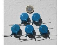 10Pcs 30KV 100P 100PF 101 high voltage ceramic capacitor 30KVRCUS