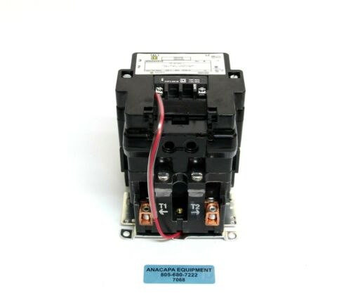 Square D 8502 SEO1 S Full Voltage AC Magnetic Contactor Type S + Auxiliary (7068