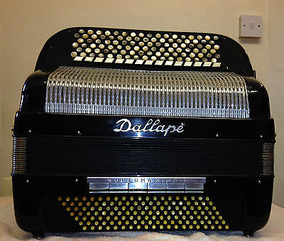 Dallape Supermaxima-a-vintage 140b Chromatic Accordion-double Cassotto-5/615/6