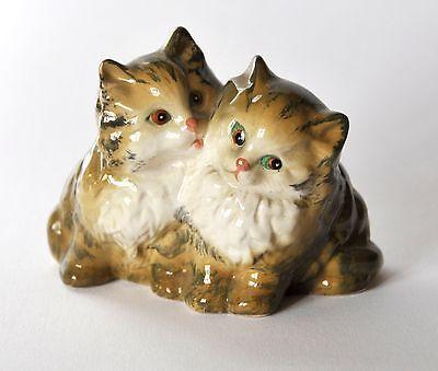 Beswick 1316 Seated Persian Kittens
