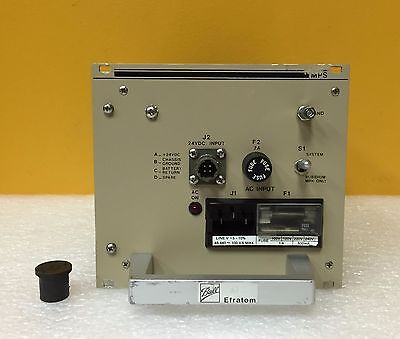 Efratom Mps Series 808-460-5 24 Vdc Rubidium Oscillator Power Supply Module