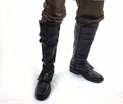 Dark Jedi Knight Sith Black Boots Anakin Skywalker Costume US SELLER Star Wars ()