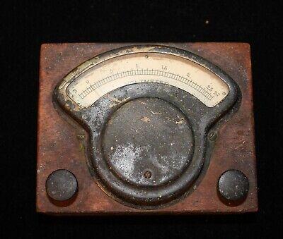 Vintage Hoyt Electrical Instrument Works Voltmeter