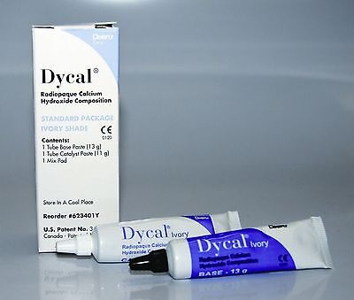 Dycal Ivory Dentsply Radiopaque Calcium Hydroxide Dental Pulp Capping