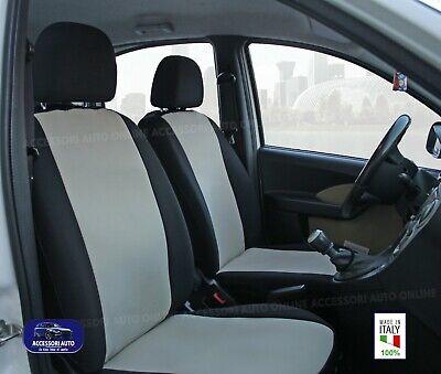 Coprisedili Anteriori Fiat Panda 169 CROSS Fodere 2003>2011 4X4 Foderine tessuto