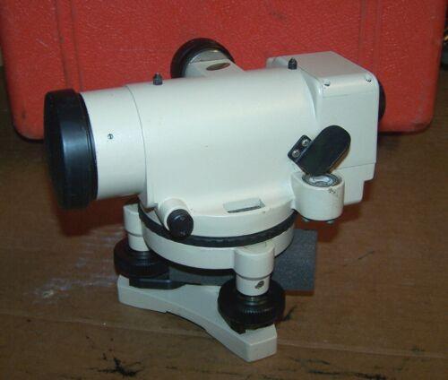 David White Instruments Automatic Level Model AL8-22 With Case